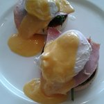 Fantastic breakfast - Eggs Benedict