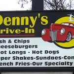 Best French Fries Ever at Denny's Drive in Grand Bend, ON. CA