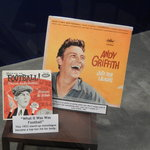 Part of the exhibit on Andy Griffith