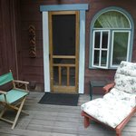 porch off bedroom
