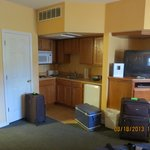 kitchenette and storage