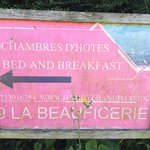 Foto de 9 La Beauficerie bed and breakfast