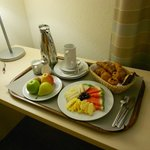 Continental Breakfast served in the room