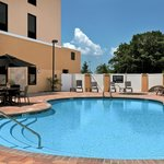 The pool at the Hampton Inn & Suites Tampa Northwest Oldsmar