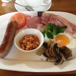 Full English, the best part of the stay!