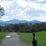 view from golf course
