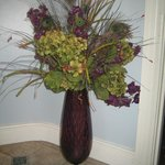 One of many beautiful flower arrangement