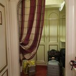 Closet for luggage in our room at Colomba d'Oro - Sep 19-20, 2012