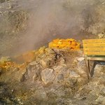 Solfatara's active volcanic activity (the steam & heat is impressive)