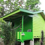 The GREEN Wooden Bungalow