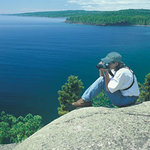 Get the bird's eye view of Lake Superior