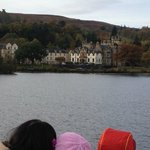 View of Cameron House from Boat Trip from Balloch