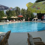Hotel pool at the Aymes