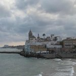 View from your walk on the Beach by the hotel in Sitges