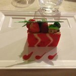 Dessert - charlotte fruits rouges