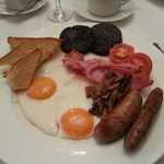 very nice full English