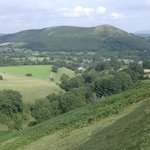 View of Ragleth Hill from the