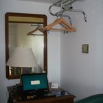 A place to hang your clothes.