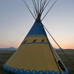 Foto Lodgepole Gallery & Tipi Village