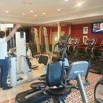 Very odd-looking hotel gym