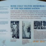 details of Rose Totem pole