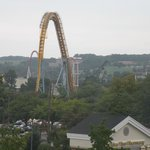 View of Hershey Park from our room.