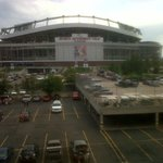 Sports Authority field is just next door