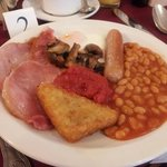 Tasty full English.