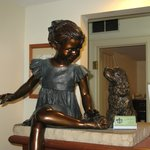Statue at Reception
