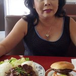Lunch with Colette at 49er in Aiea