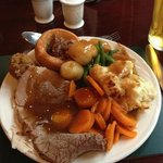 carvery in restaurant