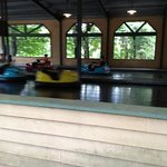 Kids bumper cars.