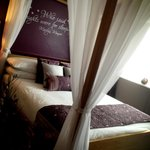 Our newly refurbished honeymoon room (Room 2)