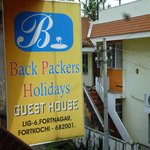 Фотография Backpacker Holidays Guest House Kochin