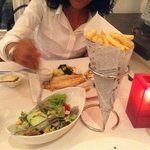 Lovely salad and frites