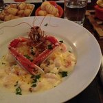 Amazing Cod and Prawn mornay