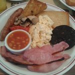 mmmmm Ashburton full English