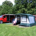 My VW Camper and converted T25 trailer