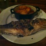 Branzino with roasted potatoes