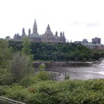 Parliament Buildings / Ottawa River
