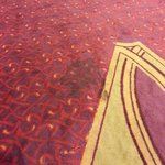 Stained and dated carpets