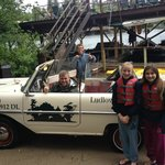 amphicar ride...with Mike and Paul!!!