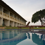 Cassia Lodge pool and rooms