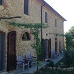 The lovely renovated Tuscan cottage