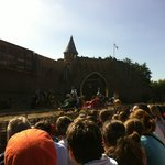 The show at Puy du Fou near Puybelliard