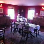 Breakfast room, quality furnishings, spotless!