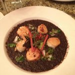 Scallops (with tasty,( very spicy!) black bean sauce)