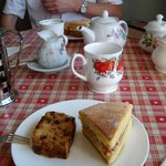 Complimentary afternoon tea/coffee and cakes
