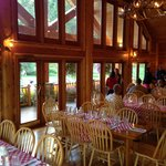 Main lodge restaurant/dining are