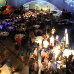 Banquet inside the Air Zoo